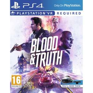BLOOD AND TRUTH PS4