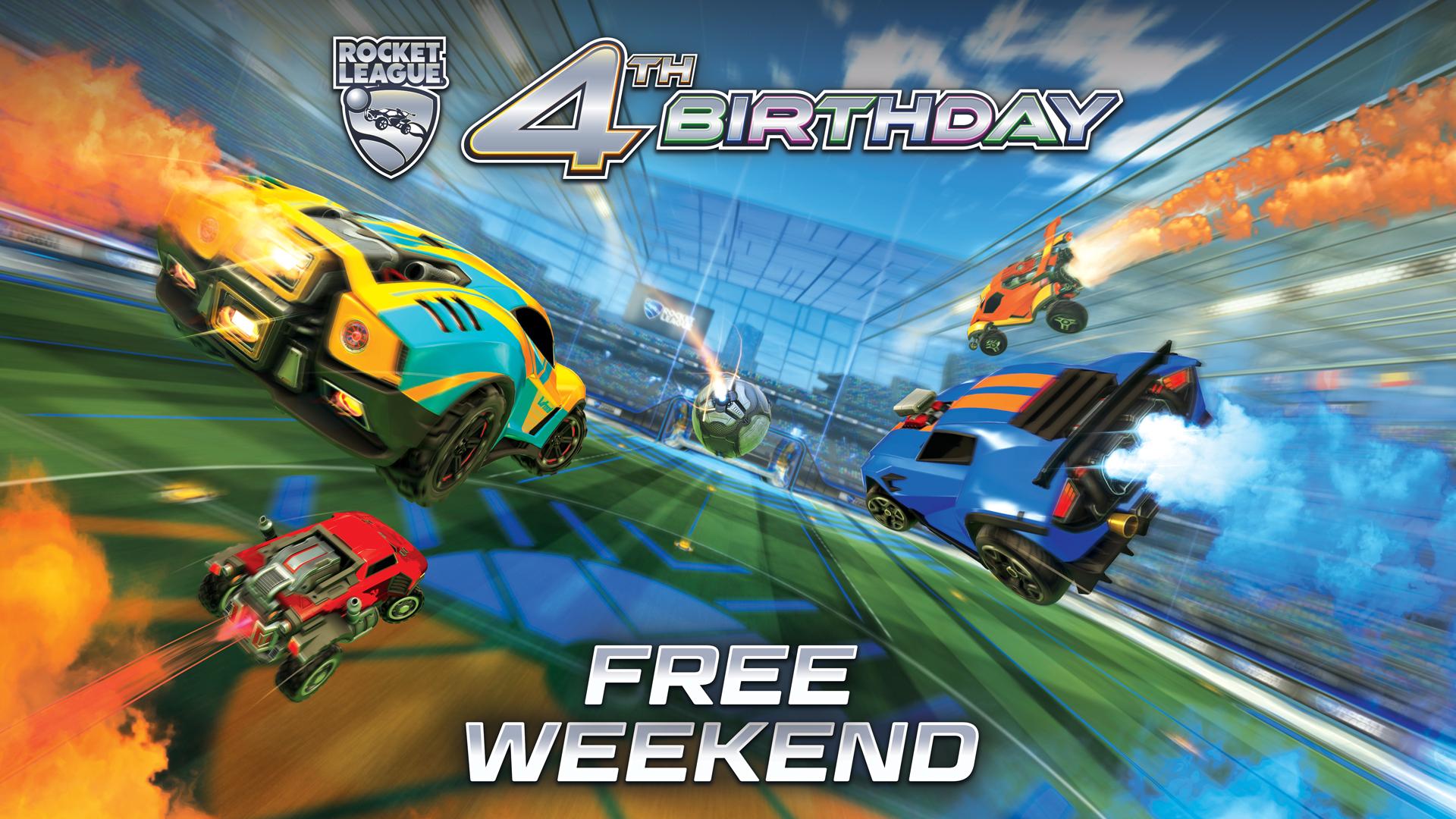Darmowy weekend z grą Rocket League na konsoli Xbox One oraz PC