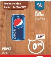 Pepsi puszka 0,33 l - Wafelek Supermarkety