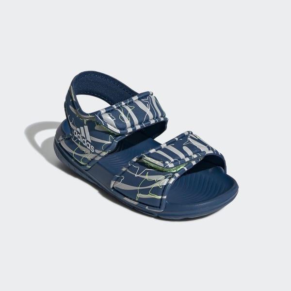 Adidas AltaSwim niebieskie sandały dziecięce