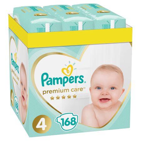 Pieluszki Pampers Premium Care 4 za 110,99 z kuponem pampers za rejestrację 0.66zł/szt.