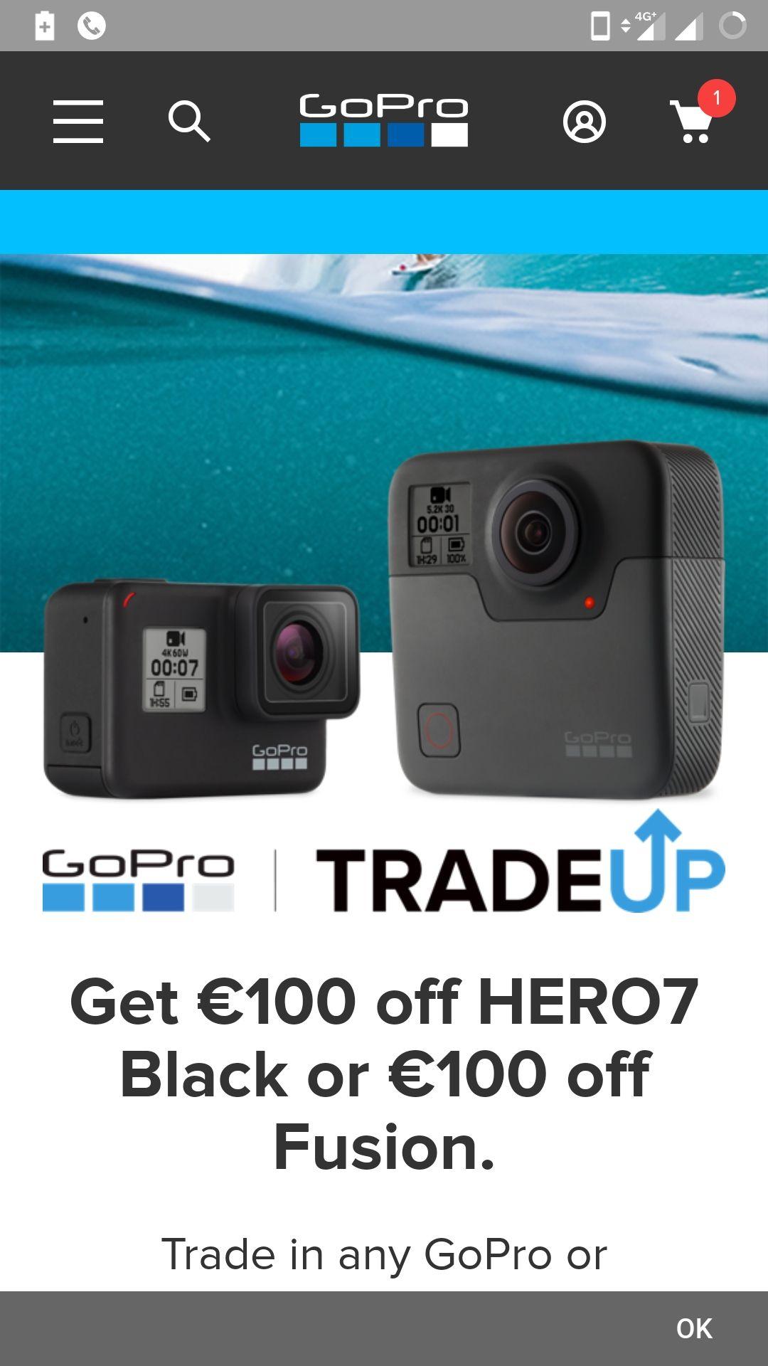 GoPro 7 Black oraz GoPro Fuzion