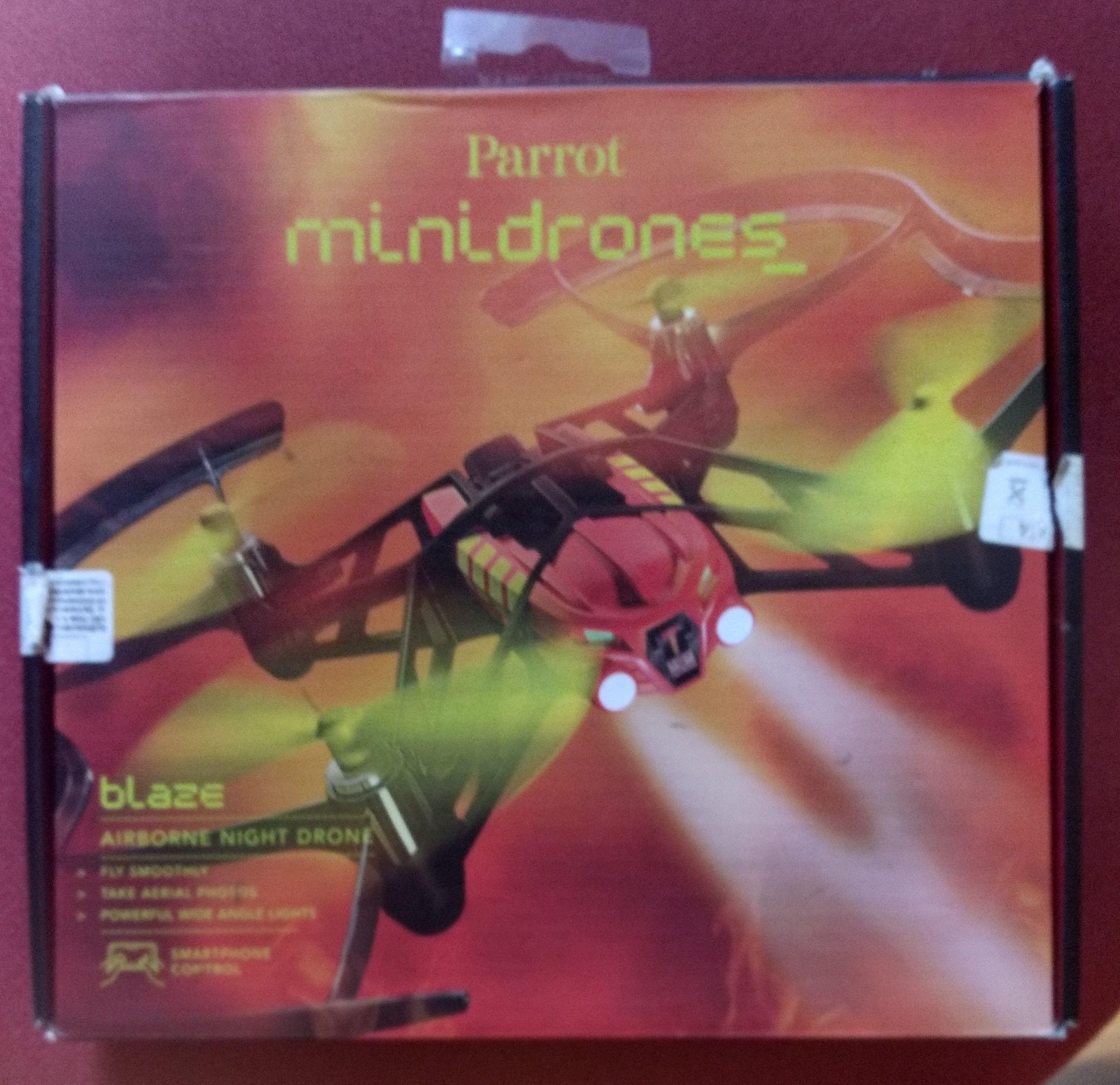 Parrot minidrones blaze #Biedronka