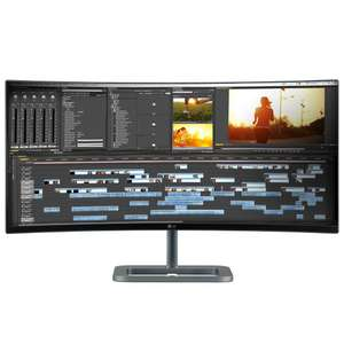 """Monitor LG 34"""" LED 34UC87M-B"""