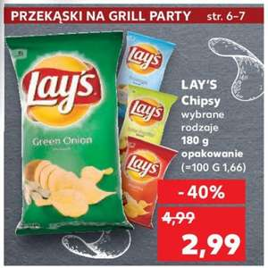 Chipsy lay's 180g Kaufland