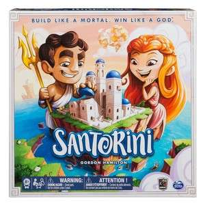 Santorini - znakomita gra planszowa. Ocena: 7,6 BGG