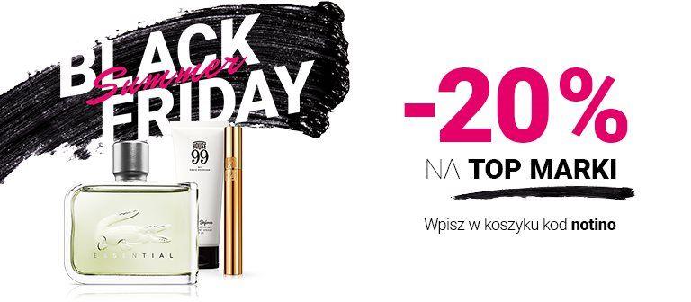 NOTINO.PL 20% zniżki na perfumy i kosmetyki TOP MAREK