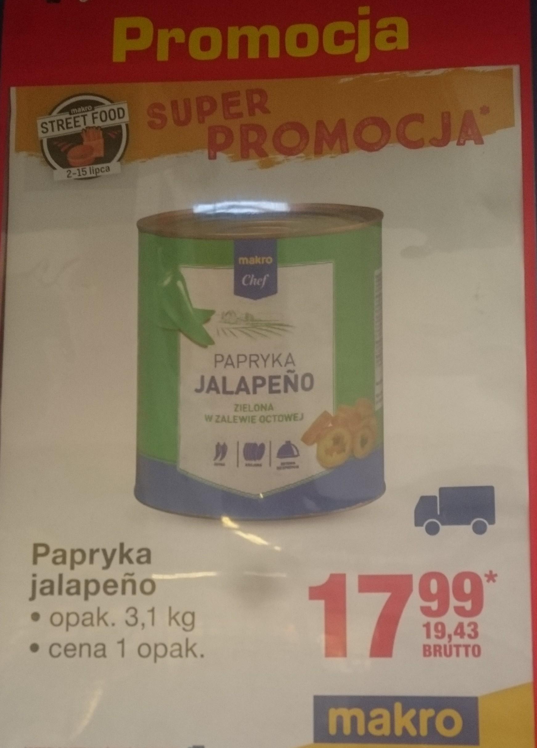 Papryka Jalapeno