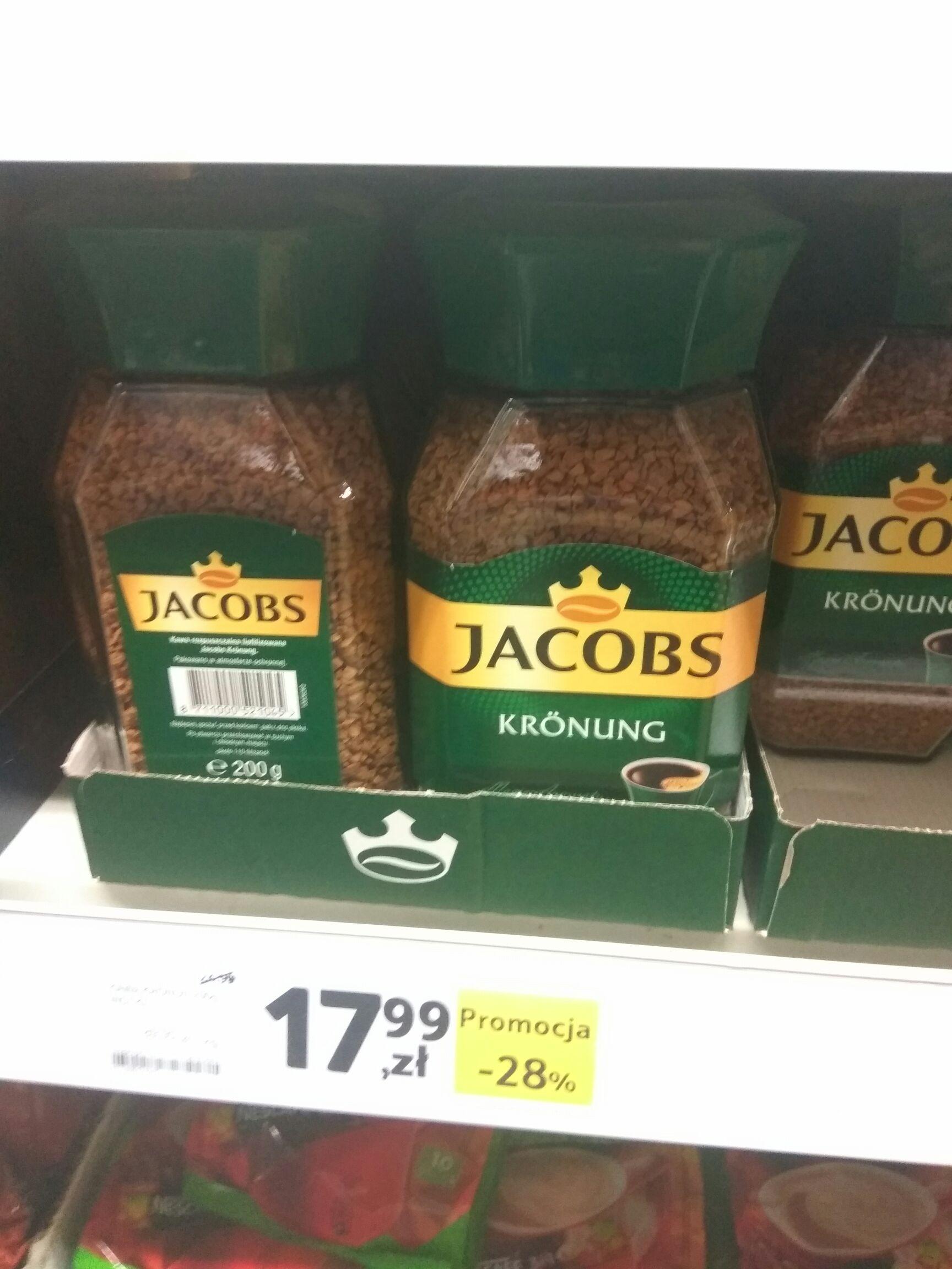 Kawa Jacobs Krönung za 17,99 w Tesco
