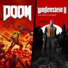 Wolfenstein II + DOOM - dobry bundle na PS4!