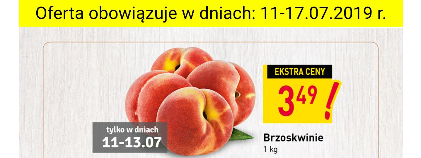 Brzoskwinie kg - supermarket Stokrotka