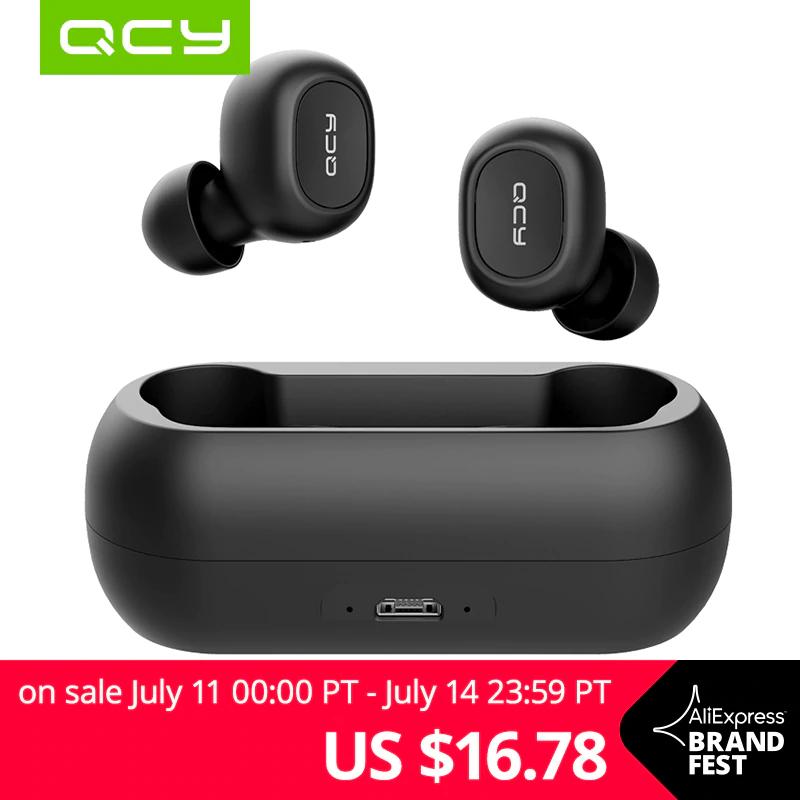 Słuchawki bezprzewodowe QCY QS1 za 16.78$, QS2 za 19,78$ i inne @ AliExpress