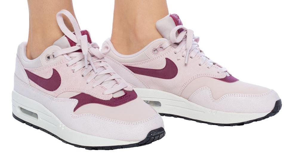 Nike Air Max 1 Premium barely rose / true barry - buty Damskie