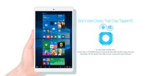 Teclast X80 Plus Tablet PC Windows 10 + Android 5.1  -  WHITE