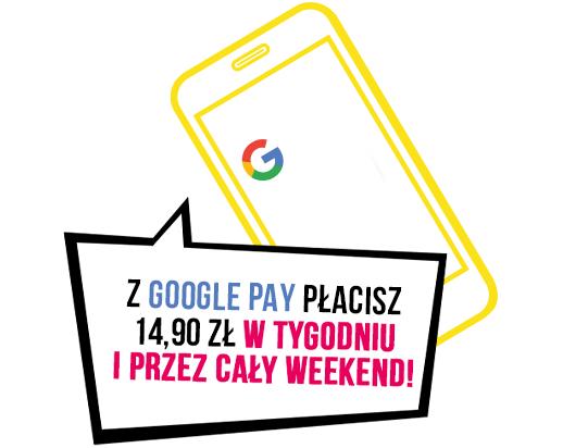 [Studenci] Bilety do Multikina z Google Pay zawsze za 14,90 zł