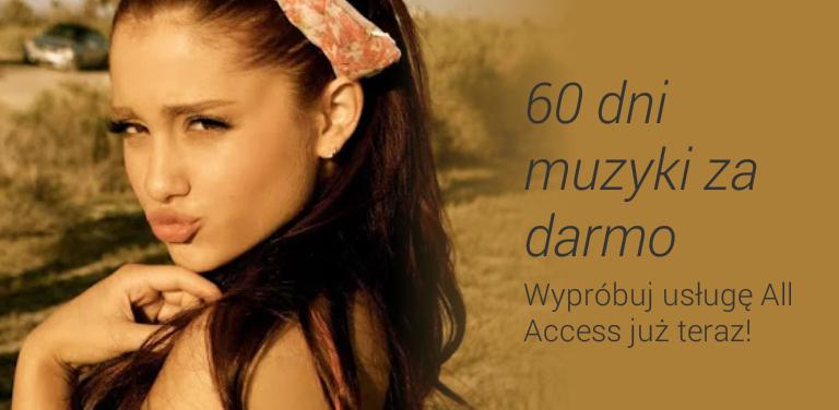 Pełny dostęp do muzyki przez 60 dni za DARMO! @ Google Play Muzyka