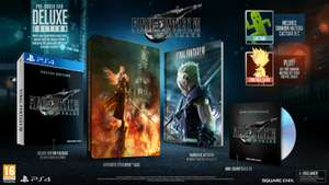 Final Fantasy VII 7 Remake PS4 Deluxe Edition