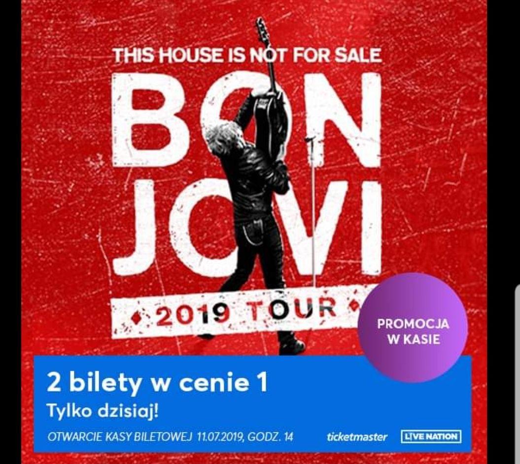 Dwa bilety w cenie jednego Bon Jovi