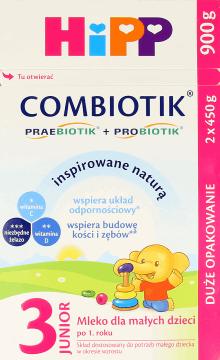 Mleko HiPP Combiotik 3 900g w Rossmann