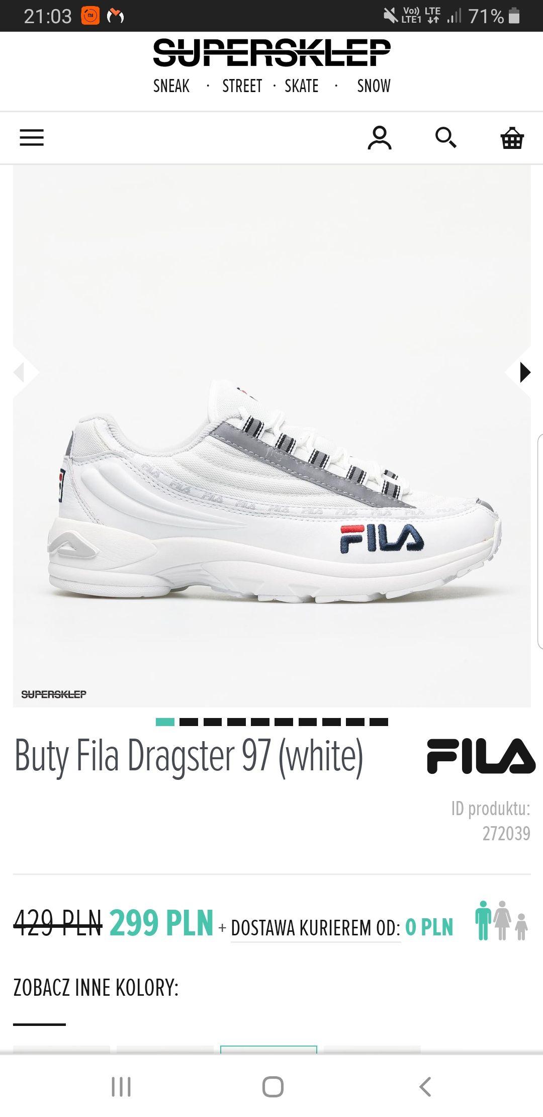 Buty Fila Dragster 97