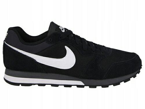 Nike MD Runner 2 Czarne - rozmiar 46