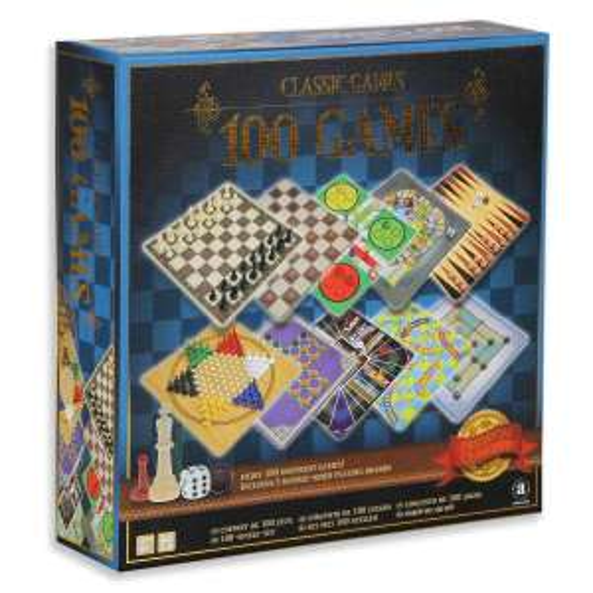 Panon Limited, zestaw 100 gier planszowych