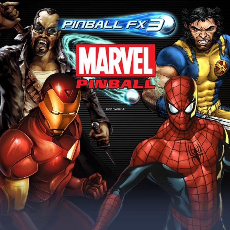 Pinball FX3 - Marvel Pinball Original Pack: Spider-Man, Wolverine, Iron Man, Blade