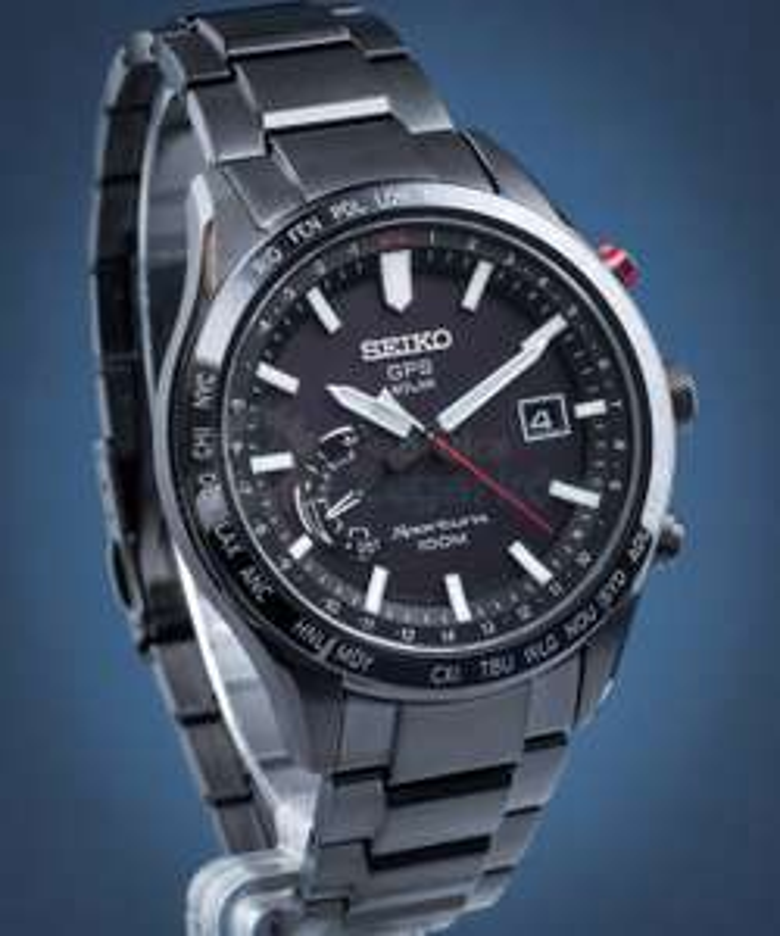 Zegarek Seiko Sportura Solar GPS SSF005J1