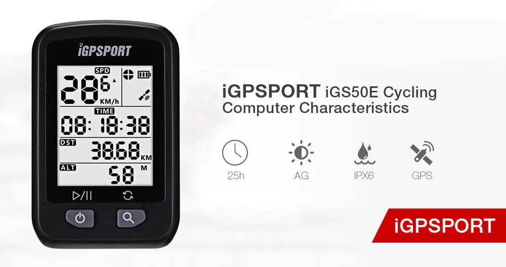 iGPSPORT iGS20E Licznik rowerowy GPS 36USD