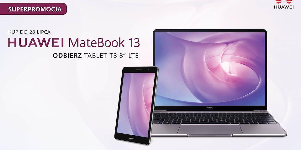Kup MateBook 13, tablet dostaniesz gratis