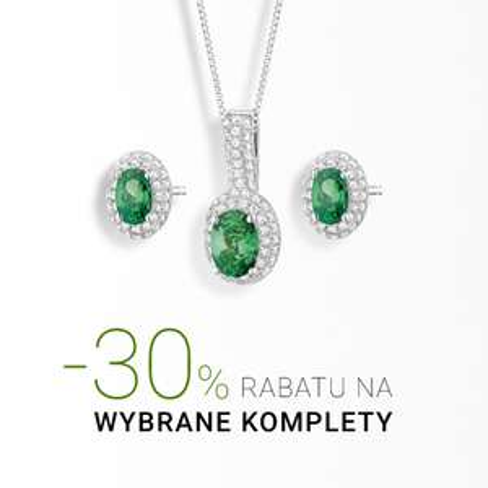 Apart - biżuteria z rabatami do 50%, na komplety biżuterii 30%.