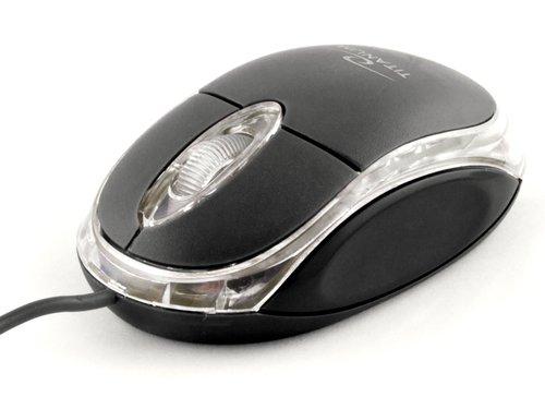 Mysz optyczna TITANUM Raptor 3D TM102K kolor czarny w sferis