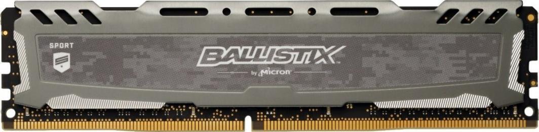Pamięć RAM Ballistix Ballistix Sport LT, DDR4, 8 GB,3000MHz, CL16 (BLS8G4D30BESBK)