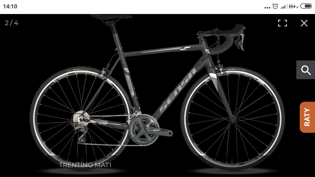 Rower sensa Trentino sl mat
