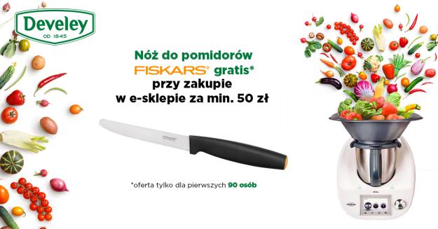 Nóż Fiskars w prezencie  przy zamówieniu od 50zł!