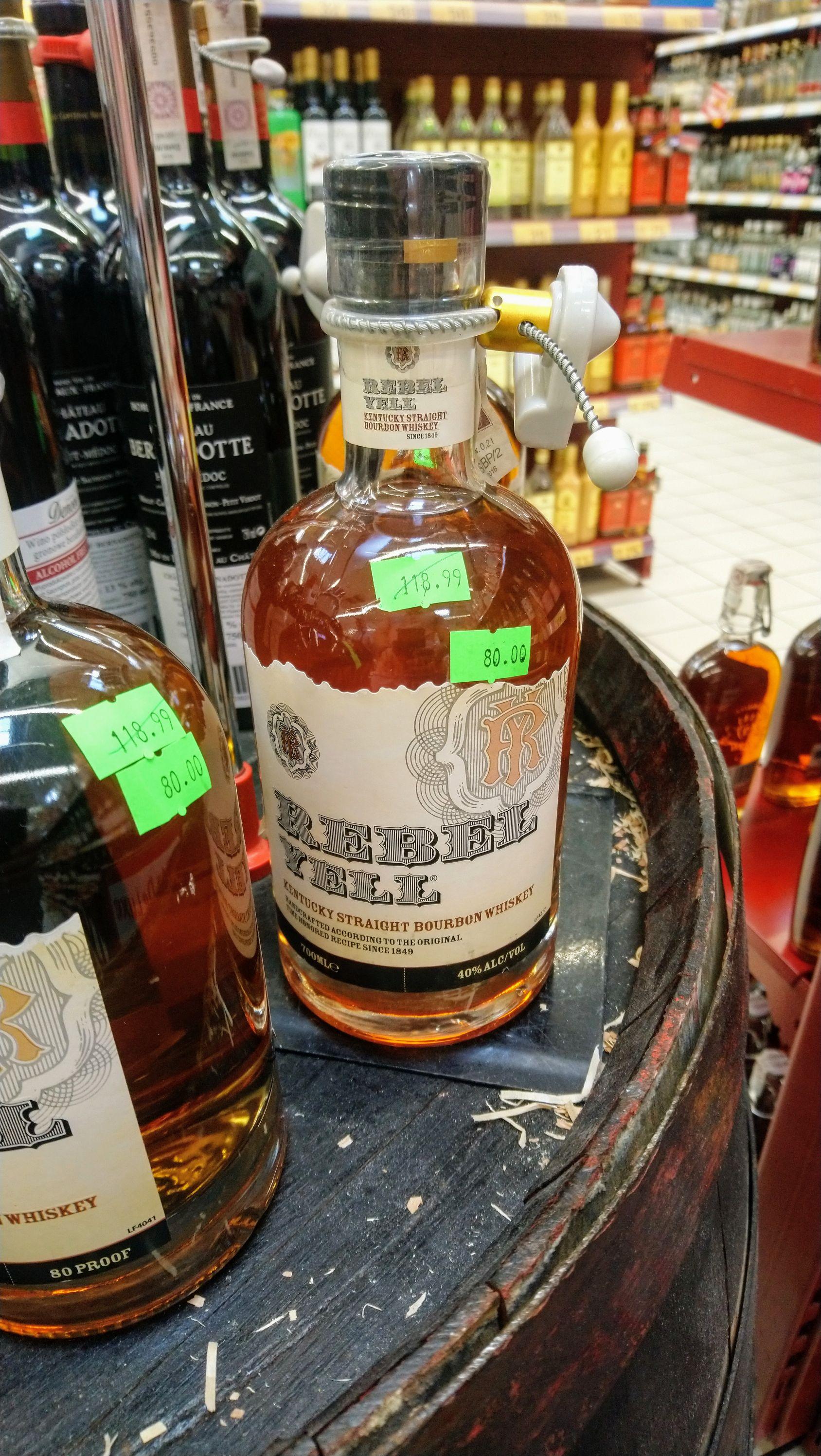 Kentucky Bourbon Whiskey Rebel Yell 0,7l Toruń Auchan
