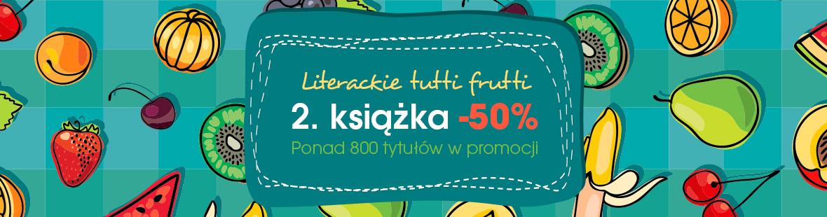 Druga książka -50% (od ceny okładkowej) @ Świat Książki