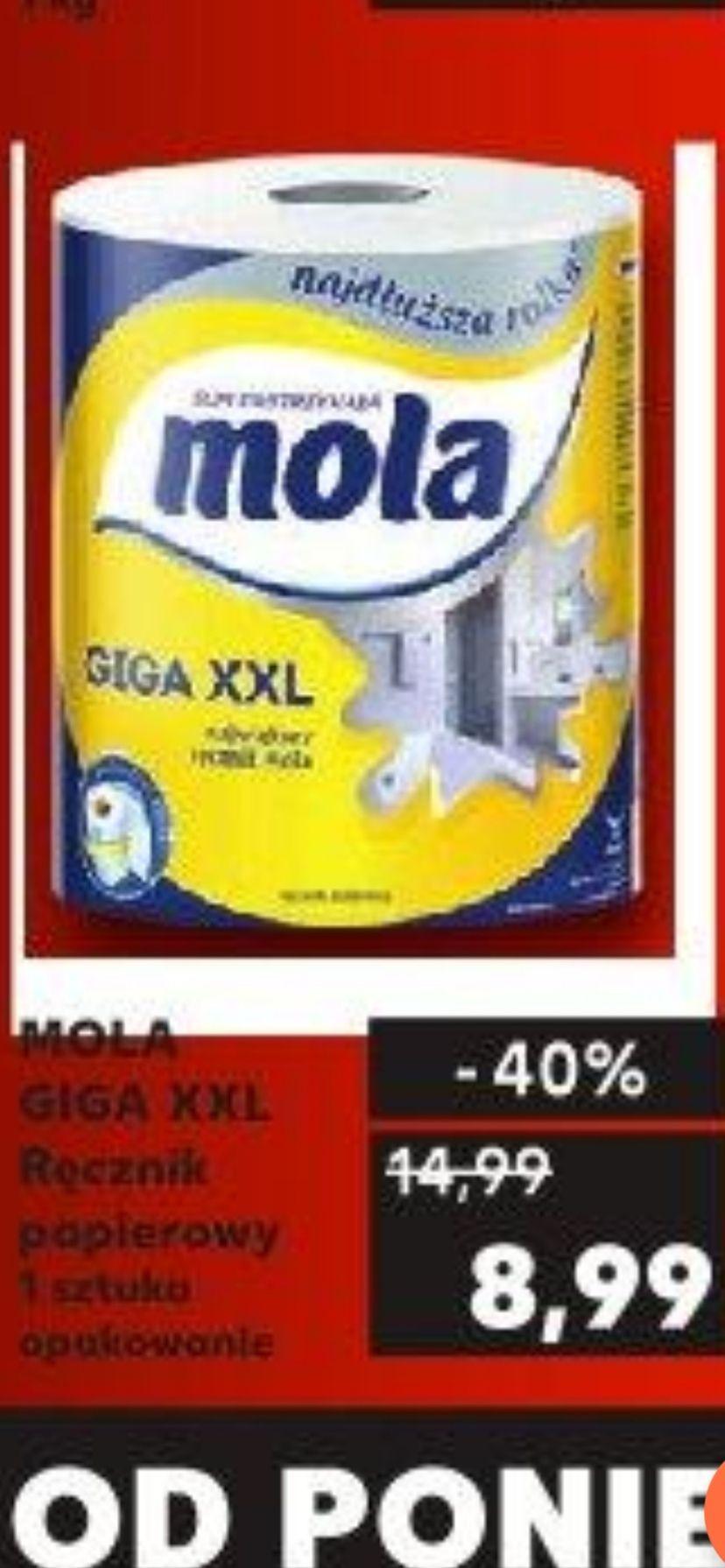Ręcznik papierowy Mola Giga XXL Kaufland