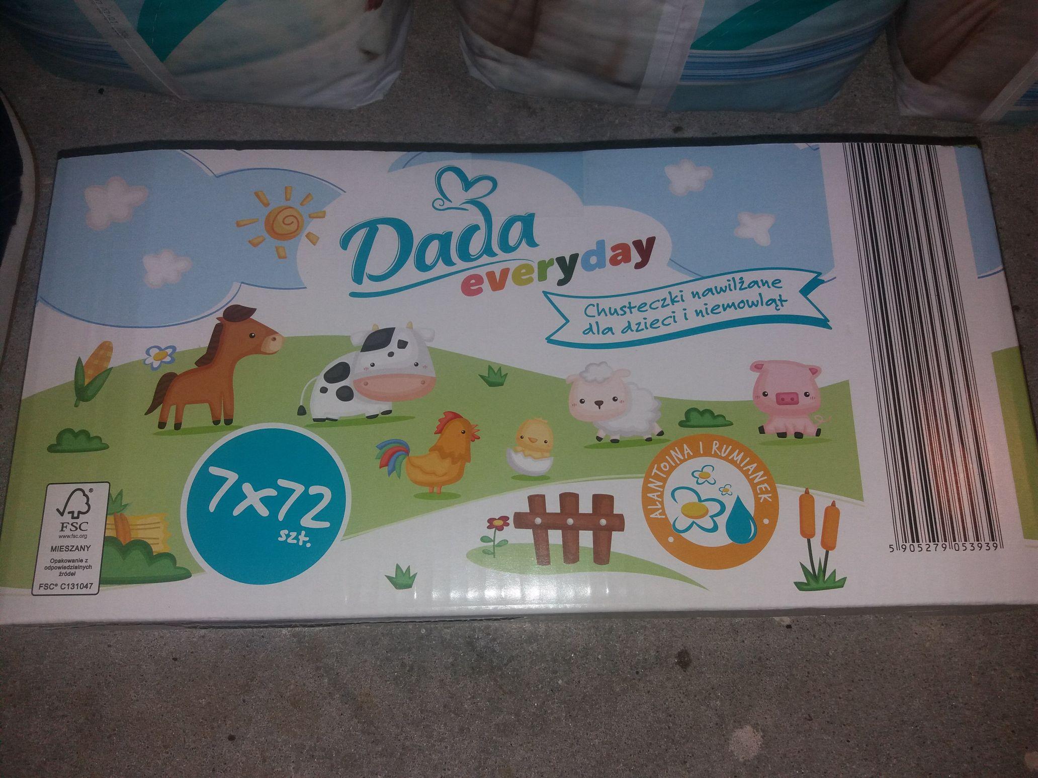 7-mio pack chusteczek Dada Everyday