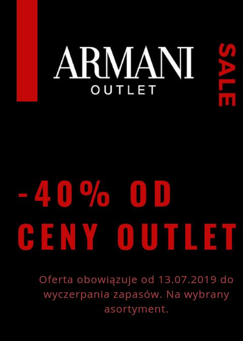 Armani Outlet Piaseczno -40%