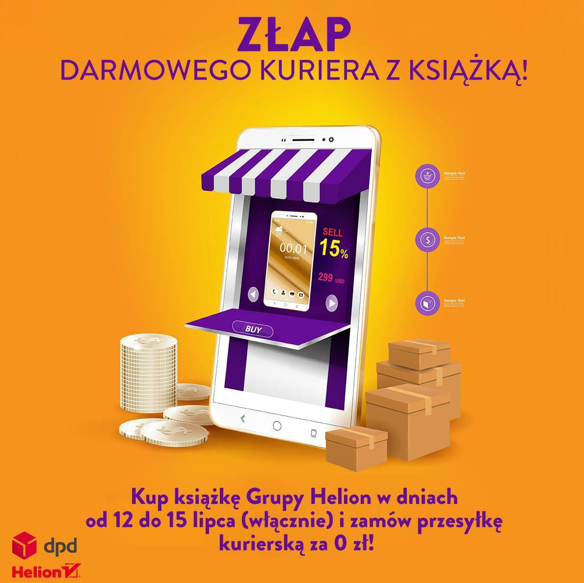 Darmowa dostawa kurierem na Helion.pl do 15.07 włącznie.