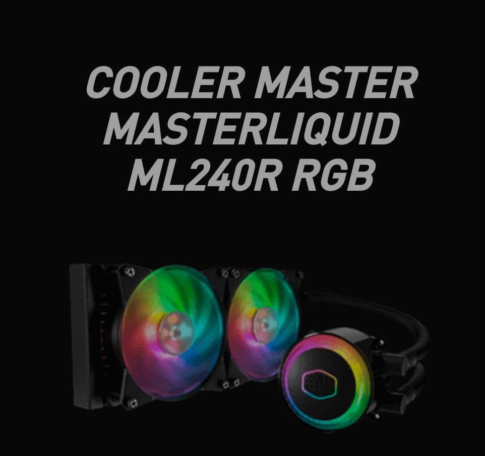 Kup płytę główną MSI X570 i odbierz chłodzenie wodne Cooler Master MasterLiquid ML240R ARGB