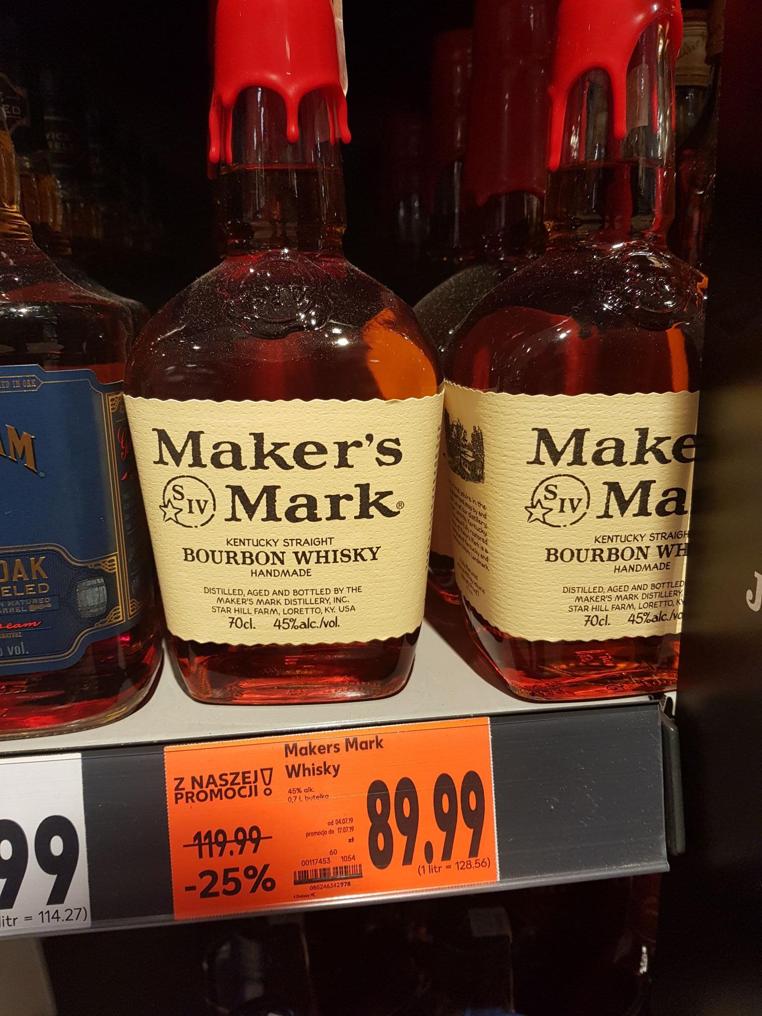 Bourbon Maker's Mark 0.7lb- Kaufland