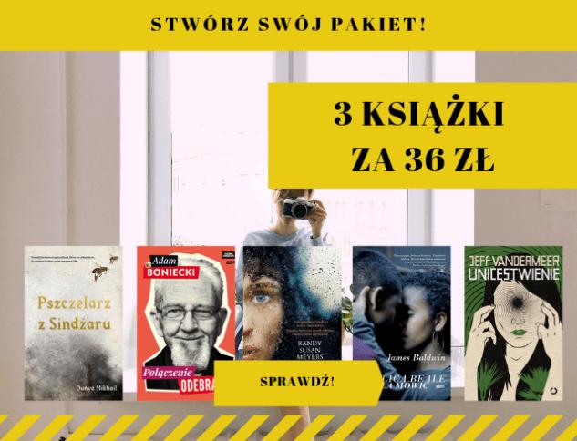 3 wybrane książki za 36zł @Matras.pl