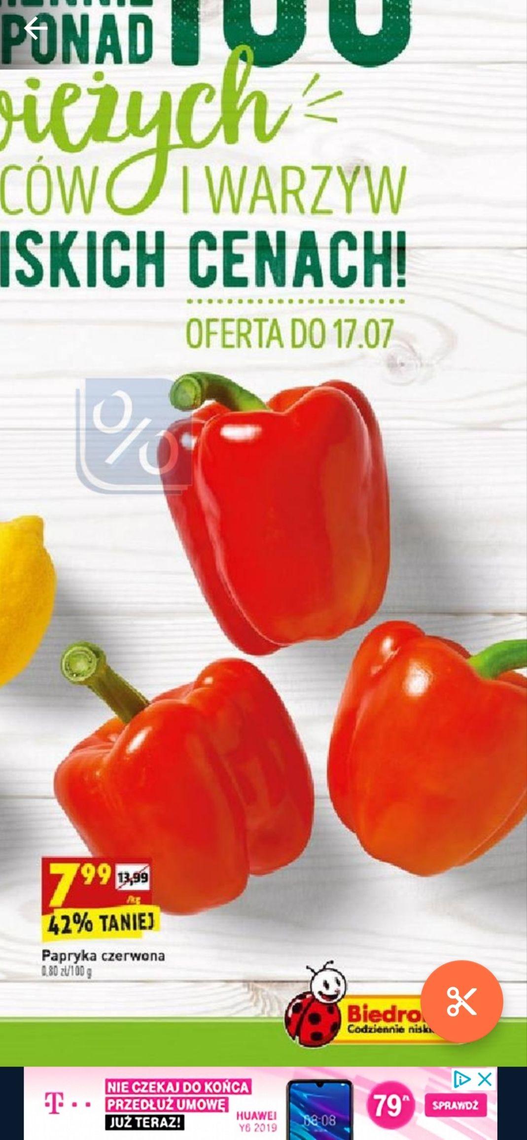 Papryka czerwona - Biedronka