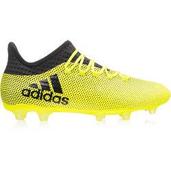 Buty piłkarskie korki X 17.2 Techfit FG Adidas (neonowo żołte)