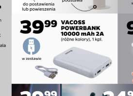NETTO: Powerbank VAKOSS 10000mAh 2A