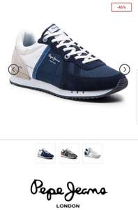 Sneakersy PEPE JEANS  Tinker Zero Seal PMS30508 Midnight 582  -46%