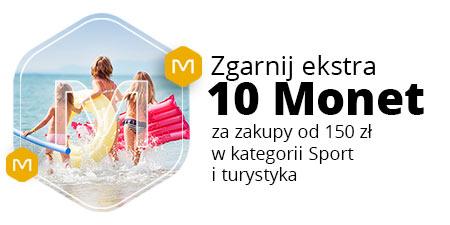 +10 Monet za zakupy od 150 zł w kategorii Sport i turystyka @ Allegro