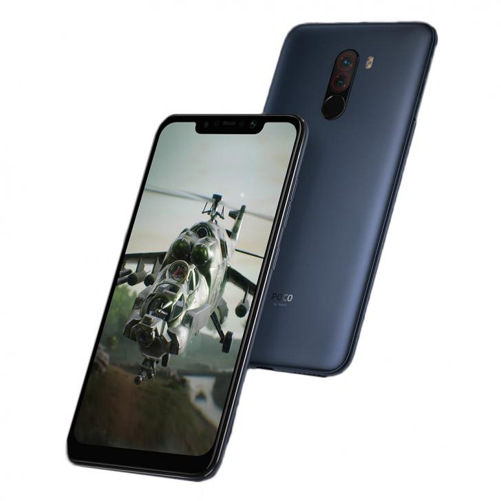 Xiaomi Pocophone F1 6/64 gb steel blue